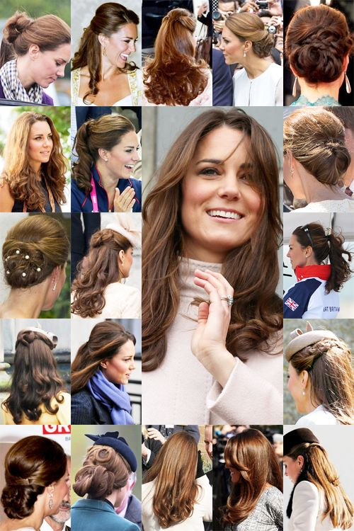 Kate's Flawless hair!