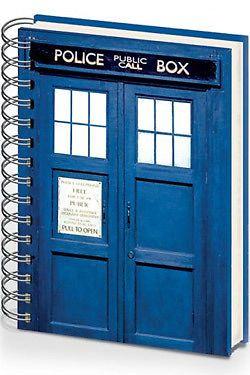Doctor WHO Cahier À Spirale A5 Tardis | eBay