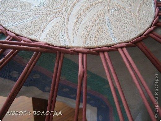 Мастер-класс Поделка изделие Плетение завитушечка моя Трубочки бумажные фото 7