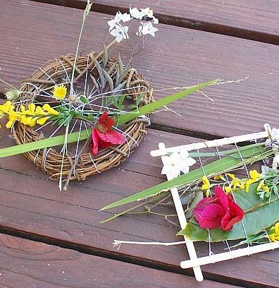 Kids Nature Weaving Activity