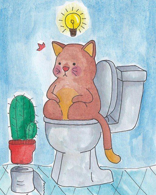 #illustration  #watercolor  #catdiary