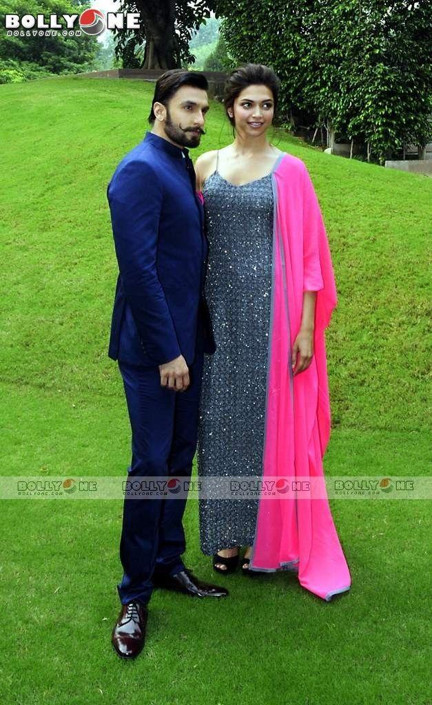 Deepika Padukone & Ranveer Singh at Ram Leela Promotions in Delhi