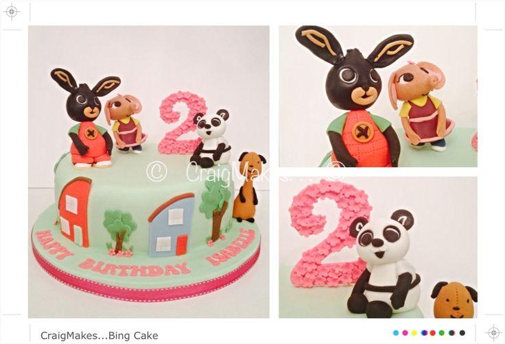 Bing inspired cake