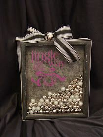 Every month could be one color and every year could be another color! Relationship marble shadow box