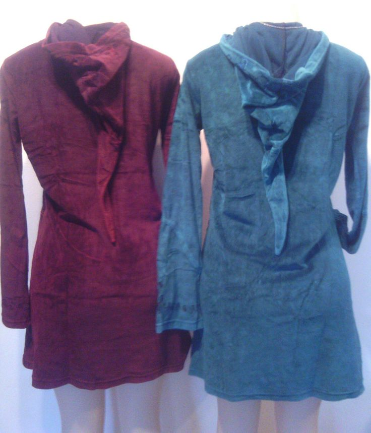 Velvet Fitted Hoodie Jackets, Red,Blue,Green by HippieshopAfrica on Etsy