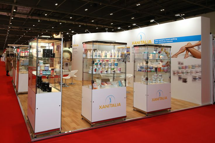 An 8 x 6m stand for Xanitalia who were exhibiting at Professional Beauty London…