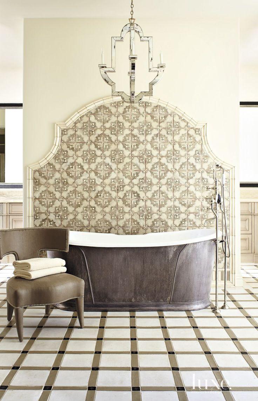 311 best Tile images on Pinterest   Bathroom, Bathrooms and Tiles