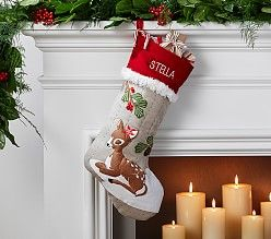 Knit Christmas Stockings & Big Christmas Stockings | Pottery Barn Kids