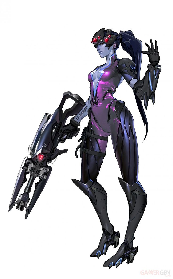 Overwatch Widowmaker Artwork
