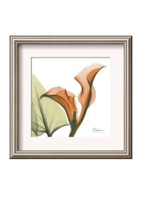 Art.com Multi A Gift of Calla Lilies in Orange Framed Art Print - Online Only