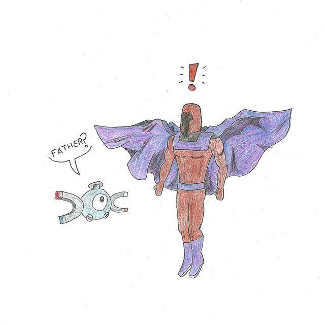 Día del Orgullo Friki. #DíaDelOrgulloFriki #Magneto #Magnemite