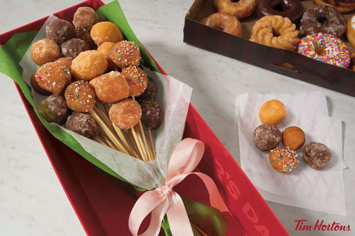 Tim Hortons Is Offering A 'Donut Bouquet' For Mother's Day