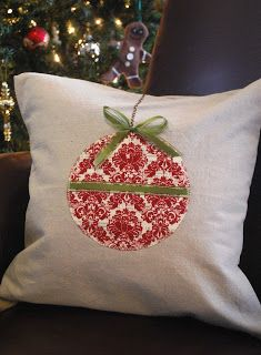 Ornament pillow & 25+ unique Christmas cushions ideas on Pinterest | Christmas ... pillowsntoast.com