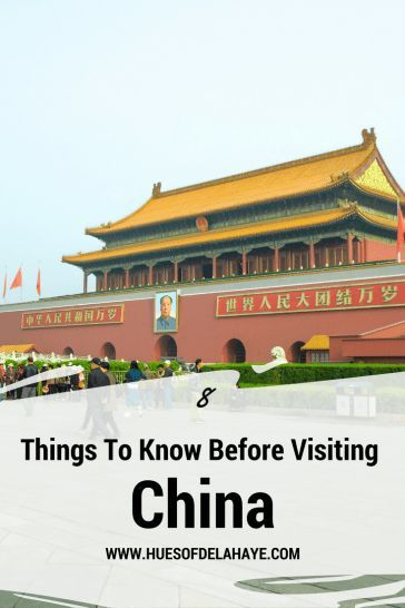Travelling to China - 8 Things To Know Before Visiting China. China Travel Tips| Things To Know Before Visiting China| China Travel Tips Beijing| Things To Know When Visiting Beijing| Things To Know Before Visiting China| China Travel Guide | Asia Travel Tips| Beijing Travel Things Do To| First time visiting China, #chinatravelguide #China