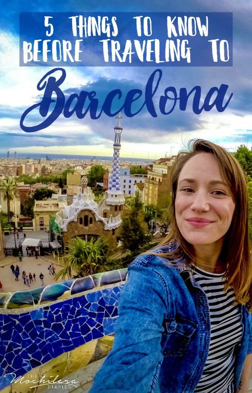So, you're traveling to Barcelona, Spain? Here are five things I wish I knew before heading there myself. | The Mochilera Diaries