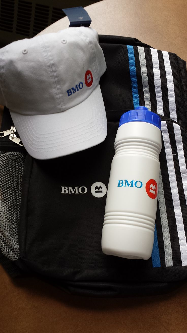 BMOO Sports package - Back pack,  hat, water bottle