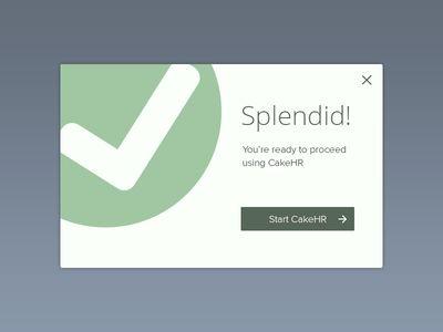 Rebound - Simple Modal Window CakeHR  by Gavin McNamee TAGS: #ui #alert