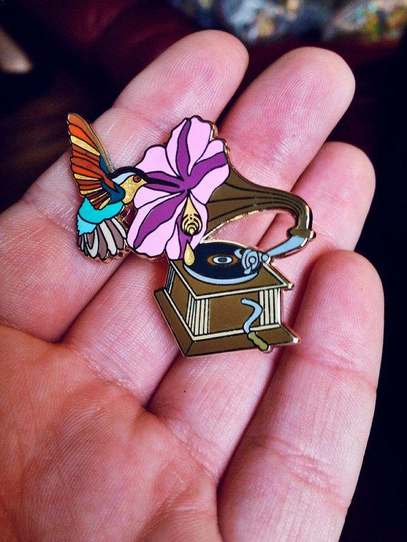 "Bassnectar ""Sweet Nectar"" Hat Pin on Etsy, $13.00"