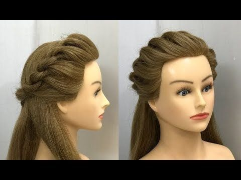 Everyday Hairstyles For College Girls Easy Hairstyles Youtube