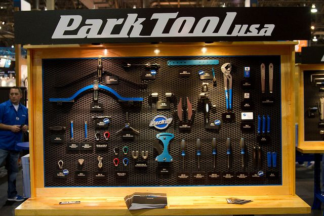 Park Tool Board At Interbike Bicycle Bicycle