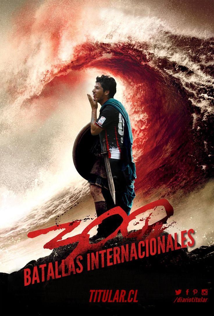 ¡#ColoColo sale a pelear en su partido número 300 en torneos internacionales! Dale Me Gusta, comparte y comenta si crees que terminará celebrando!