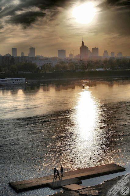 Esta es Varsovia, la ciudad donde estoy viviendo.