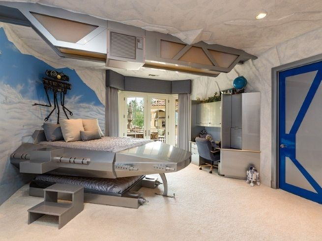 Check This Awesome Star Wars Themed Bedroom Out