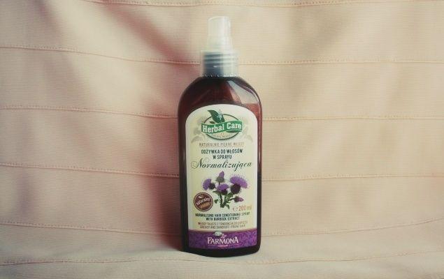 odżywka w sprayu normalizujący z serii Herbal Care
