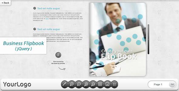 Business FlipBook -jQuery  #codecanyon