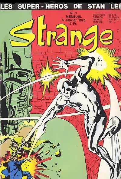 . - X-Men : 'Les X-Men' (Stan Lee,Jack Kirby, Paul Reinman) - Iron Man : 'Iron Man est né !' (Stan Lee, Larry Lieber, Don Heck) - Daredevil : 'Les origines de Daredevil !' (Stan Lee, Bill Everett, Jack Kirby) - Surfer d'argent : 'Les origines du Surfer d'Argent' (Stan Lee, John Buscema, Joe Sinnott ) - Surfer d'argent : 'L'héritier de Frankenstein !' (Stan Lee, John Buscema, Sal Buscema)