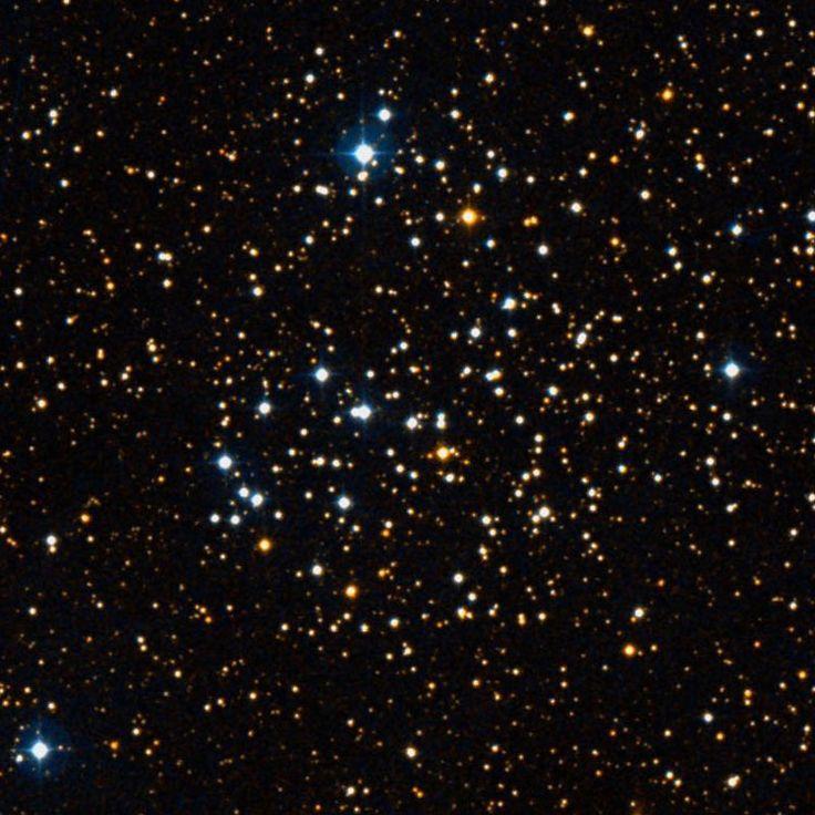 Cúmulo NGC 1513 (OCL 398). Es un cúmulo abierto en la constelación de Perseo. Es un cúmulo grande, muy rico y comprimido, con estrellas muy grandes. Descubierto por William Herschel el 28 de diciembre de 1790.