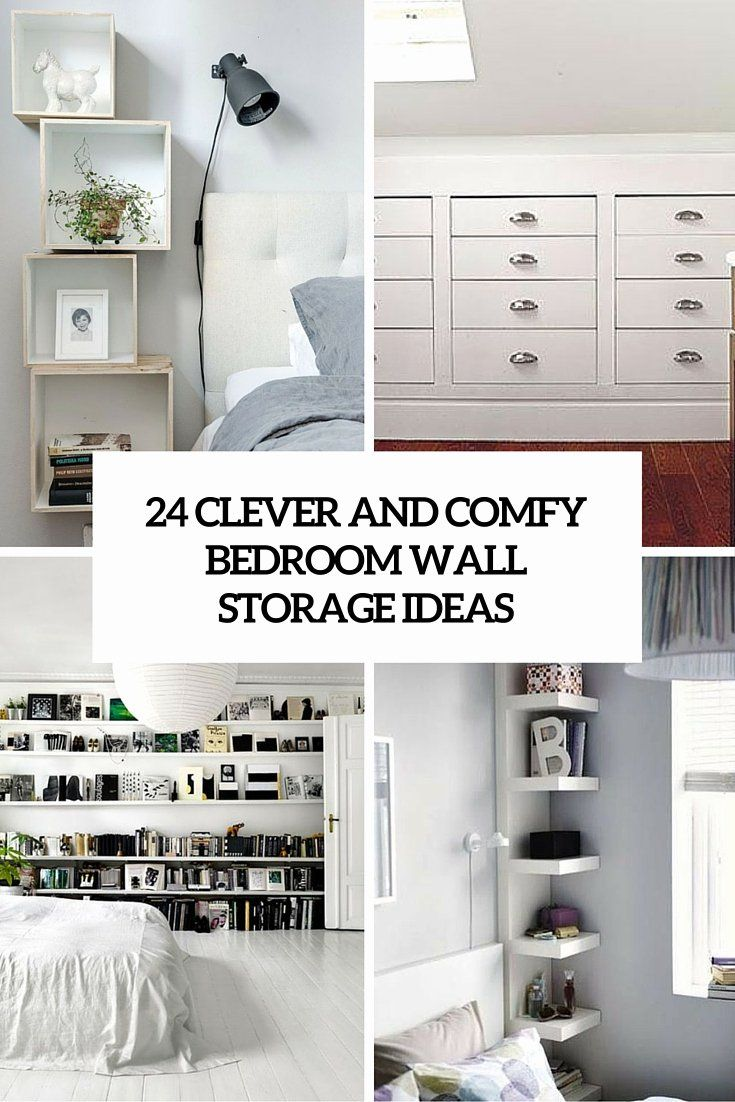 Bedroom Wall Unit Headboard Best Of 24 Clever And Fy Bedroom Wall Storage Ideas Shelterness Bedroom Wall Units Bedroom Wall Cabinets Wall Shelves Bedroom Bedroom storage ideas wall