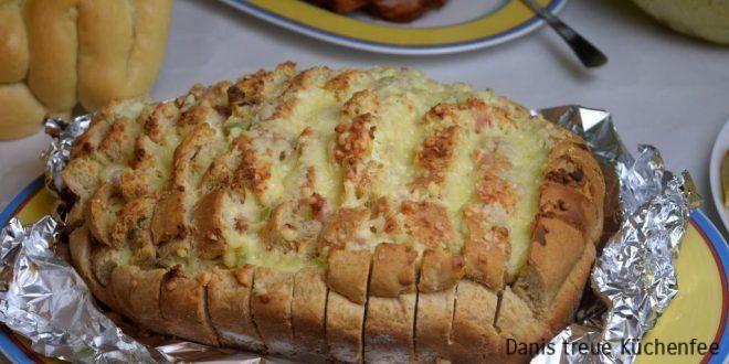 Zupfbrot Flammkuchenart Thermomix® Rezept - Danis treue Küchenfee