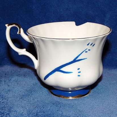 """For the fan who knows that sometimes the best teacup is chipped. 