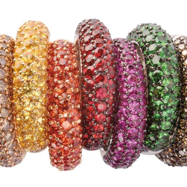 de Grisogono Emerald, sapphire, diamonds.....