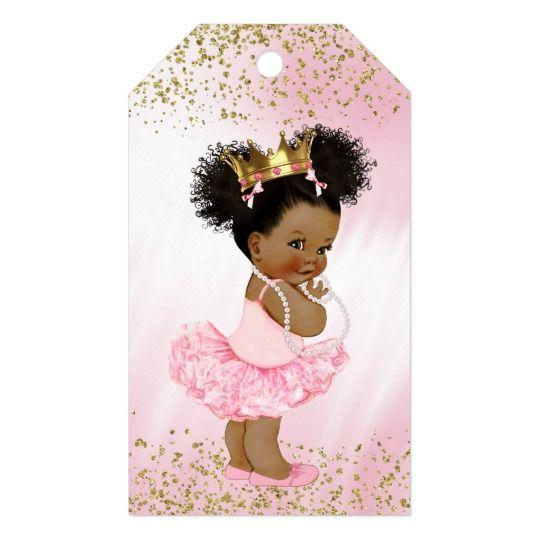 Ethnic Princess Baby Shower Gift Tags  Zazzlecom  Nana -4723