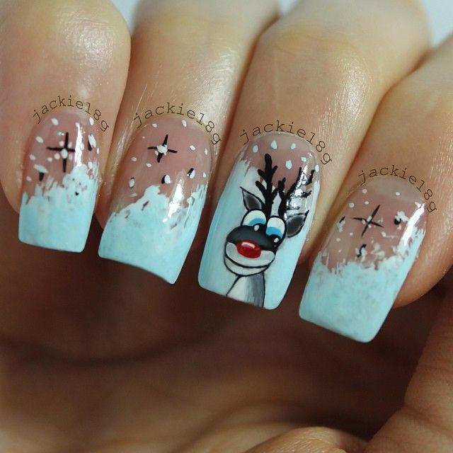 christmas by jackie18g #nail #nails #nailart