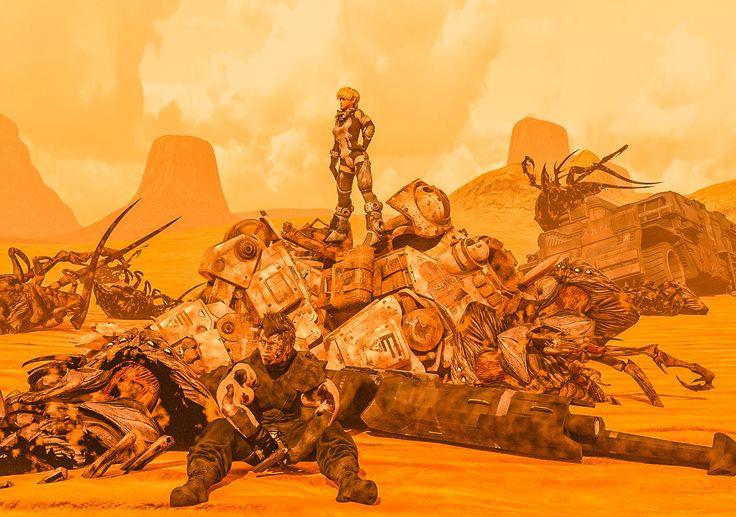 「Martian Big dust」/「Airstone_beyonD」の漫画 [pixiv]