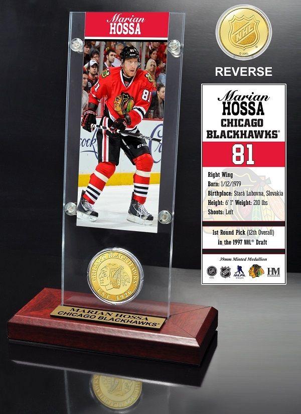 AAA Sports Memorabilia LLC - Marian Hossa Chicago Blackhawks Ticket and Bronze Coin Desktop Acrylic, #marianhossa #blackhawks #chicagoblackhawks #blackhawkscollectibles #nhl #nhlcollectibles #sportscollectibles $49.99 (http://www.aaasportsmemorabilia.com/nhl/marian-hossa-chicago-blackhawks-ticket-and-bronze-coin-desktop-acrylic/)
