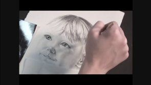 It is easy to draw a portrait | www.drawing-made-easy.com | #portrait #draw