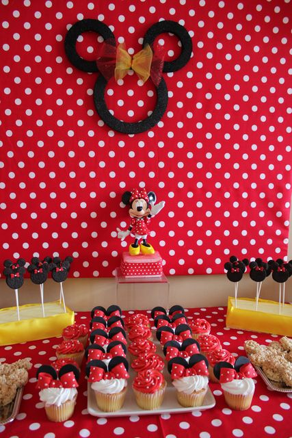 Aubrey's 2nd Birthday a Minnie affair | CatchMyParty.com