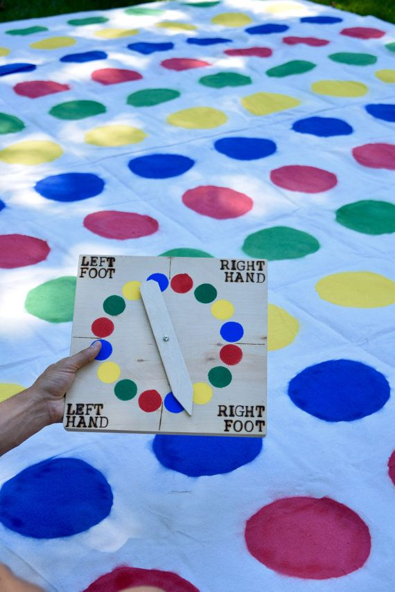 Giant Twister with Traditional Spinner by CalledandChosenGames