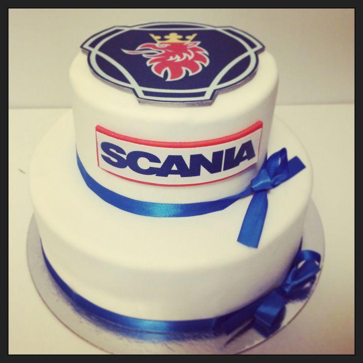 Scania Cake Scaniakakku Scania Kaka Cakes Pinterest
