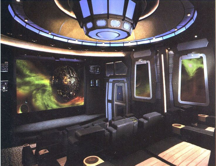 60 best images about science fiction room decor on for Sci fi decor