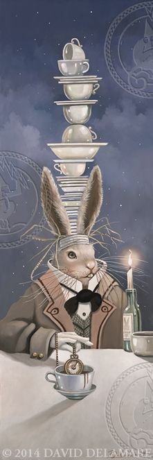 ALICE IN WONDERLAND - MARCH HARE BY DAVID DELAMARE