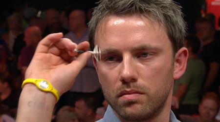 Paul Nicholson - one of my favourite darts players, and someone who provided more than a little inspiration for the character of Paul Parker - a rather sexy Geordie darts player - in my romcom, Too Much Trouble in Paradise.