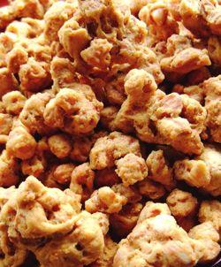 Resep kacang disco atau yang mungkin anda kenal kacang balut tepung adalah cemilan yang enak dan renyah sekali untuk anda coba, PG'ers.