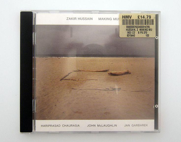 ZAKIR HUSSAIN - MAKING MUSIC.  (1987) CD