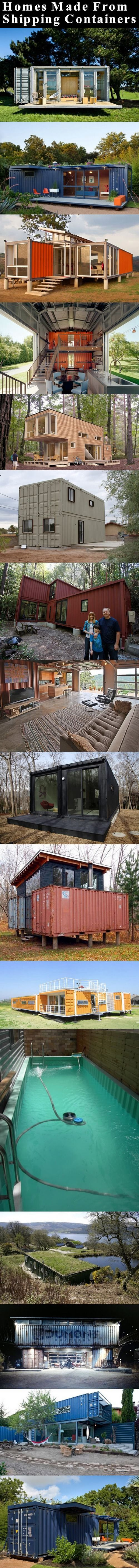 Homes Made From Shipping Containers Pictures, Photos, and Images for Facebook, Tumblr, Pinterest, and Twitter