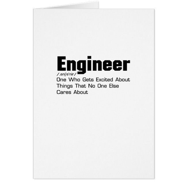Engineer Definition Funny Gift For Enginner Zazzle Com Funny Engineer Gifts Engineering Gifts Funny Gifts